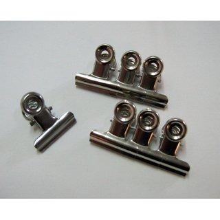 Tellerclips aus Metall ca.3cm, 6er Set