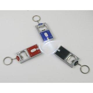 """Schlüsselanhänger LED """"Flaschenöffner"""", 24er Pack"""
