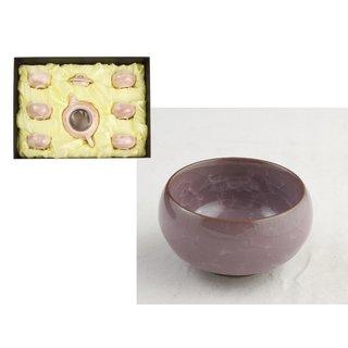 Teeset 7tlg. violett