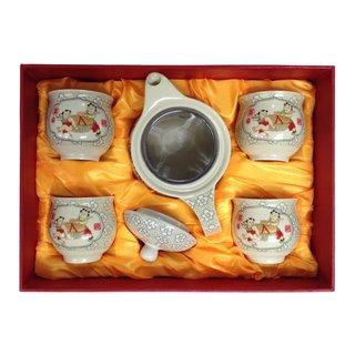 Dowan Teeset 5tlg. Chinadekor Kinder