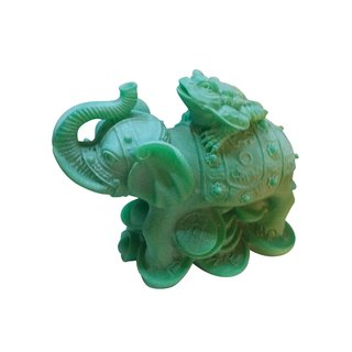 """Figur """"Elefant mit Kröte"""""""