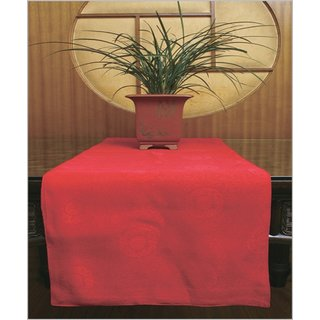 Tischläufer, rot