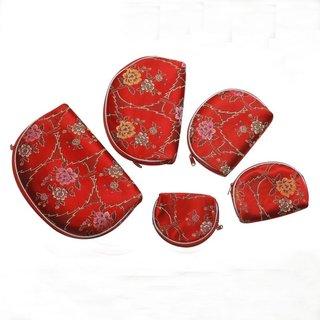 Taschen Set 5tlg. rot