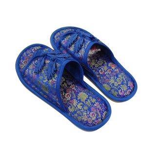 """Hausschuhe """"Baobao"""", blau"""