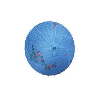 Deko Textilschirm, 80cm blau