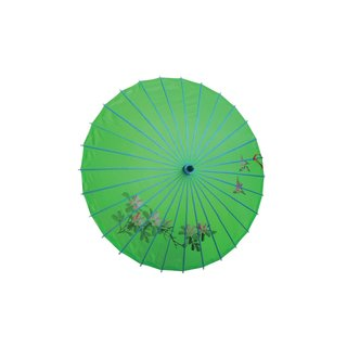 Deko Textilschirm, 80cm grün