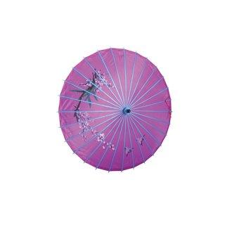 Deko Textilschirm, 80cm violett