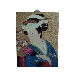 """Ölgemälde """"Japan - Geisha 1"""""""