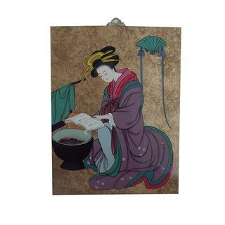 """Ölgemälde """"Japan - Geisha 2"""""""
