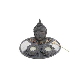 "Zen Garten ""Buddhakopf"""