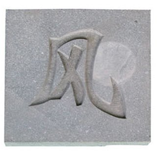 """Granit Steinplatte """"Wind"""""""