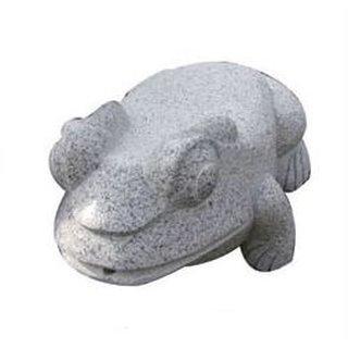 Steinfigur Frosch 40x55cm