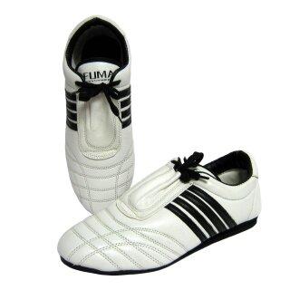 Tae Kwon do Schuhe, Leder weiss