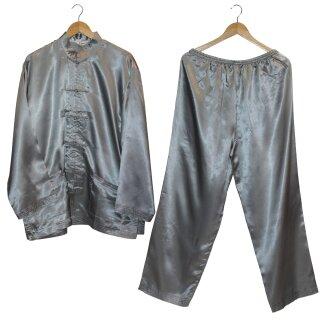 Original Tai Chi / Qi Gong Anzug silber