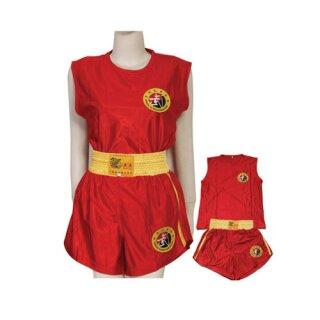 Sanda Dress / Kung Fu Anzug Hung Gar Lai Tai, rot