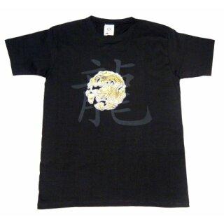 """T-Shirt schwarz """"Drache"""""""