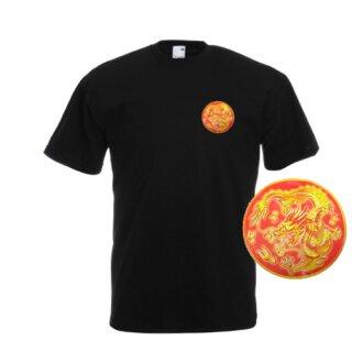 T-Shirt mit Drachenlogo - 10er Pack