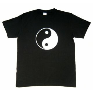 """T-Shirt schwarz """"Yin Yang"""""""