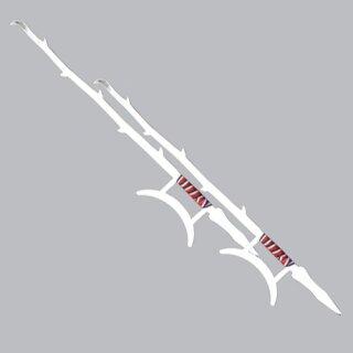 Doppelhakenschwerter - Paar, Standartqualität - ca. 100cm