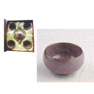 Teeset 5tlg. violett