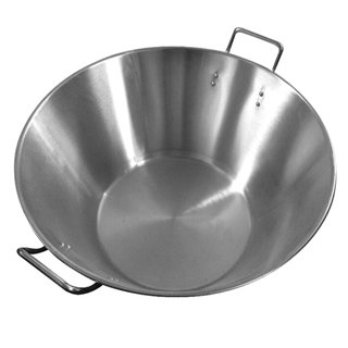 Öl Wok Metall, 50x33x26cm