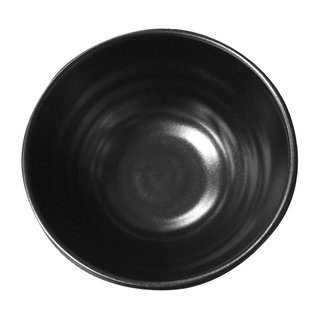 Tok. Reisschale Melamin schwarz ca.11,3x5,8cm