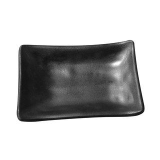 Tok. Soßenschale Melamin schwarz ca.9,8x6,3x2,8cm