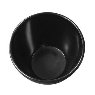 Tok. Becher Melamin schwarz ca.7,8x8,3cm