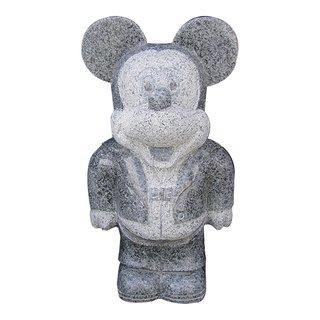 Steinfigur Micky Maus 50cm
