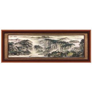 """Bild """"chin. Landschaft"""", ca. 220x80cm"""