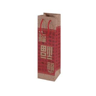 Geschenktaschen aus Papier für Flaschen