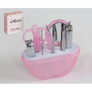 Pflegeset für Finger- und Fußnägel, pink