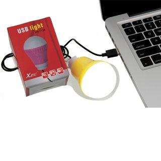 LED Birne mit USB Kabel