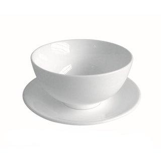 uni weiß Unterteller kl. ca.13,5cm
