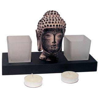 """Teelichthalter """"Buddha"""" #1"""