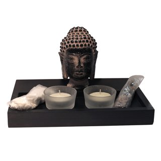 """Teelichthalter """"Buddha"""" #3"""
