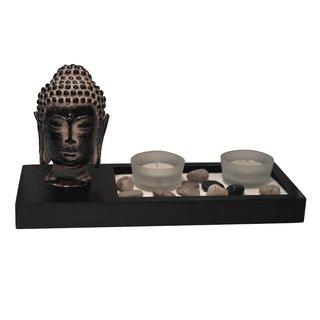 """Teelichthalter """"Buddha"""" #4"""
