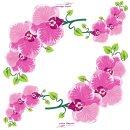 Dinnerservietten 3-lagig 1/4 Falz 40cm, 1600Stk. D. Orchidee