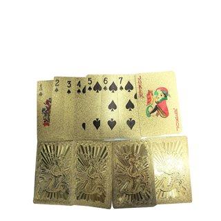"Spielkartenset ""Drache golden"""