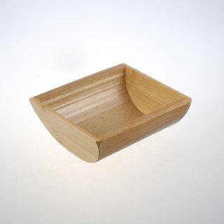 Bambusschale, ca. 14x11x4,7cm