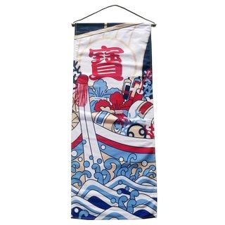 "Textil-Bild ""Japan 1"" , 35x85cm"