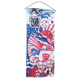 "Textil-Bild ""Sushi 2"" , 35x85cm"