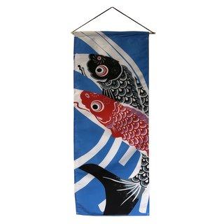 """Textil-Bild """"Koi"""" , 35x85cm"""