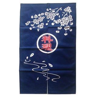 "Japanischer Vorhang ""Noren mit Japanmotiv 1"", ca. 85x140cm"