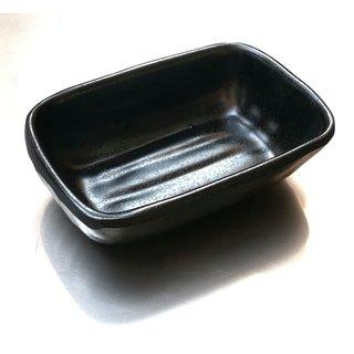 Tok. Soßenschale Melamin schwarz ca.9,8x6,7x2,5cm