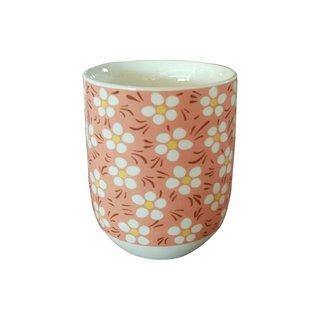 """Teecup 324 """"Blumendekor 6Stk"""""""