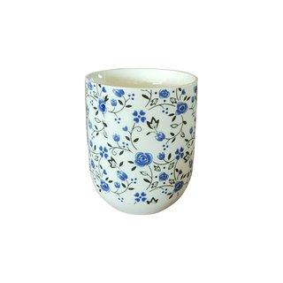 """Teecup 325 """"Blumendekor 6Stk"""""""
