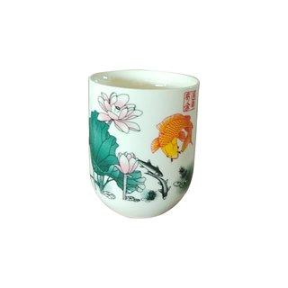 """Teecup 327 """"Blumendekor 6Stk"""""""