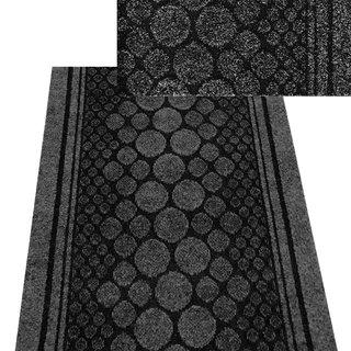 Teppichläufer Kunstfaser schwarz Cork 50 B/L 67 x 2500cm